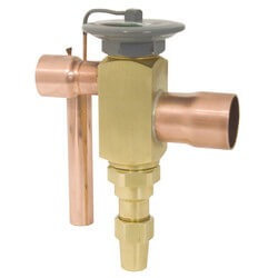 "1-1/8"" x 1-3/8"" ODF OE-16-JW Thermal Expansion Valve (16 Tons) Product Image"