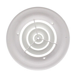 "10"" Round White <br>Ceiling Diffuser (16 Series) Product Image"