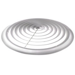 """14"""" Round White<br>Ceiling Diffuser (16 Series) Product Image"""