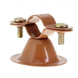 "1/2"" Copper Epoxy Coated Van Hanger Product Image"