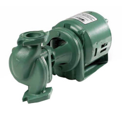 132 Cast Iron Three-Piece Circulator Pump, 1/2 HP, 1 PH