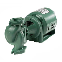 138 Cast Iron Three-Piece Circulator Pump, 1 HP