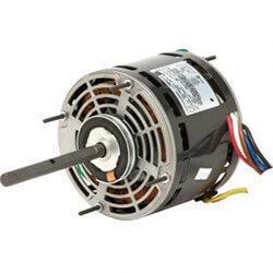 "5"" Single Shaft PSC Direct Drive Fan Motor (208/230V, 1/4 HP 1050 RPM) Product Image"