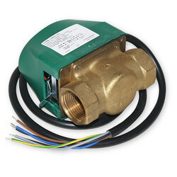 """1"""" NPT Zone Valve, Normally Closed (w/ Aux. Switch)"""