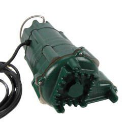 BN140 Flow-Mate Sump Pump w/ Piggyback Switch (w/ 20' Cord) Product Image