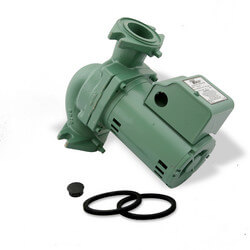 Cast Iron 2400 Series Circulator Pump, 1/3 HP