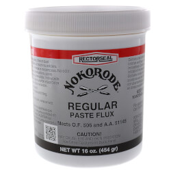 Nokorode Regular<br>Paste Flux, (1 lb) Product Image