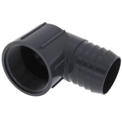 "2"" 90° PVC Insert Elbow (Insert x FIPT) Product Image"