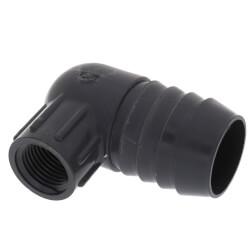 "1-1/4"" x 1/2"" 90° PVC Insert Reducing Elbow<br>(Insert x FIPT) Product Image"