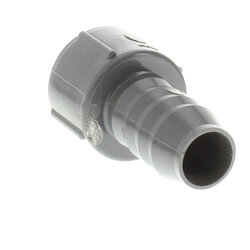 "3/4"" PVC Barbed Insert Female Hose Adapter (Female Hose x Insert) Product Image"