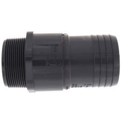 "2"" x 2-1/2"" PVC Barbed Insert Reducing Male Adapter (MIPT x Insert) Product Image"