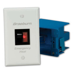 Emergency Heat Switch - Lighted Rocker Switch Product Image