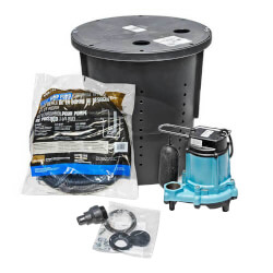 CS-SS Pre-Packaged Crawl Space Sump System
