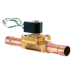 "7/8"" ODF Normally Closed Secondary Coolant Valve (5 Cv) Product Image"