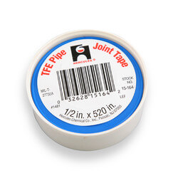 "TFE Pipe Joint Tape, 1/2"" x 60"" (carded, blister pack)"