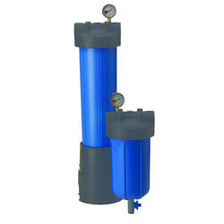 """PBH-420-1.5, 20"""" Bag Vessel with 1-1/2"""" Inlet/Outlet Product Image"""