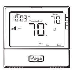 3 Heat - 2 Cool Programmable ProRadiant Thermostat Product Image