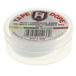 """Multipurpose Heavy Industrial Tape Dope<br>3/4"""" x 500"""" Product Image"""