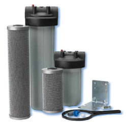 """WFP1.5-20BBSYS, 1-1/2"""" High-Flow Carbon FloPlus System (0.5 Microns) Product Image"""