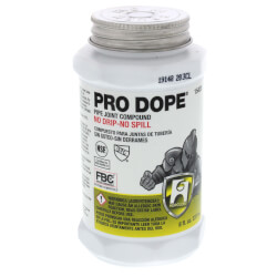 1/2 pt. Pro Dope (screw cap with brush)