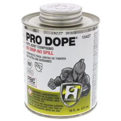 1 pt. Pro Dope (screw cap with brush)