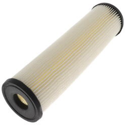 W20CLa, Pleated Resin Impregnated Cellulose Sediment Filter Cartridge Product Image
