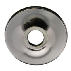 """1/2"""" CTS Chrome Plated Steel Low Escutcheon (2-1/2"""" OD) Product Image"""