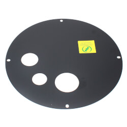 "Sump Basin Cover, 18"", Steel w/ 3"" Vent (Radon Lid) Product Image"