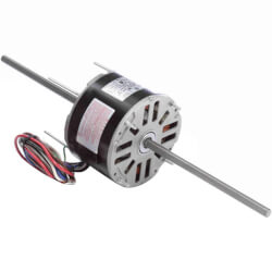 "5-5/8"" Double Shaft Fan/Blower Motor (208-230V, 1625 RPM, 1/6 HP) Product Image"