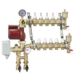 Floating Point Manifold Mixing Station w/ UPS<br>15-58 Pump (3 Outlets) Product Image