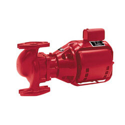 S-55-3 BF Cast Iron 3-Phase In-Line Pump, 1/2 HP