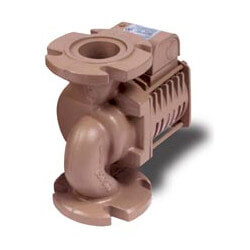 "ARMflo E33B-3"" Bronze Circulator, 0-143 GPM Flow"