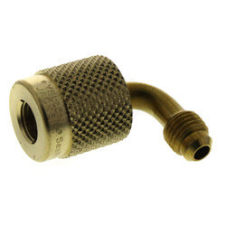 "1/4"" SealRight 90° x 1/4"" Male Flare Quick Coupler Product Image"