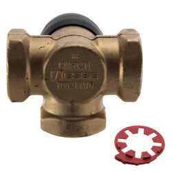 """1-1/4"""" 3-Way Mixing Valve<br> -15 to 230°F (Threaded) Product Image"""
