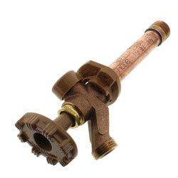 """Model 19 4"""" Length<br>1/2"""" FPT x 3/4"""" MPT Inlet Wall Faucet Product Image"""