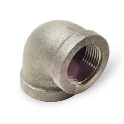 """1-1/2"""" Black Cast Iron Drainage Long Turn 90° Elbow Product Image"""