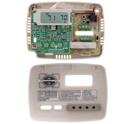5+2 Day Programmable Thermostat, 24 Volts, Horizontal