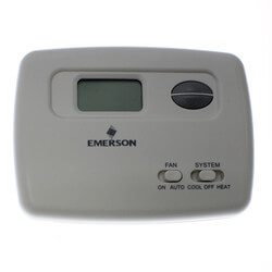 Non-Programmable Thermostat, 24 Volt or Millivolt system, Horizontal