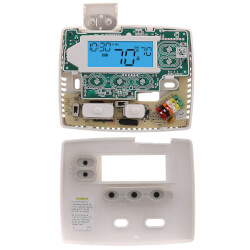 24 Hour Programmable Blue Thermostat, 1/1 Single Stage