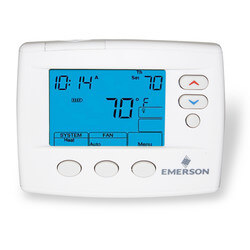 80 Series Programmable, 1H/1C, Blue Digital Thermostat