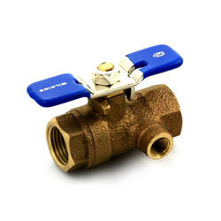 "2"" Tapped IPS Ball Valve"