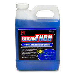 32 oz. Break-Thru Sewer & Septic Main Line Cleaner