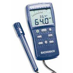 Humidity-Temperature Meter & Case Product Image