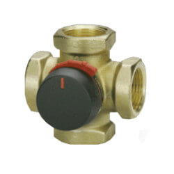 "Four Way Mixing Valve, 3/4"" F NPT"
