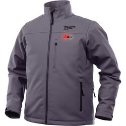 M12 Grey Heated Jacket Only (L) Product Image