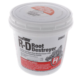 2lb. R-D (root destroyer)