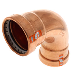 "2-1/2"" Propress XL-C Copper 90 Elbow Product Image"