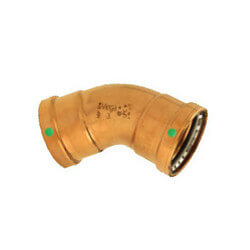 "4"" Propress XL-C Copper 45 Elbow (CxC)"