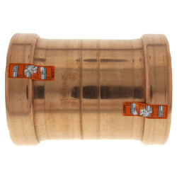 "4"" Propress XL-C Copper Coupling - (C x C) - No Stop (Lead Free)"