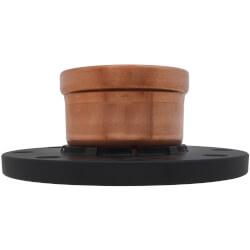 "2-1/2"" Propress XL-C Copper Adapter Flange, Zero Lead (Flange x P)"